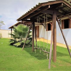 Casas de campo de estilo  por Ativo Arquitetura e Consultoria, Rural Ladrillos