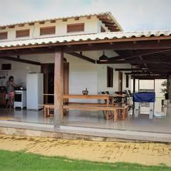 Country house by Ativo Arquitetura e Consultoria, Country Bricks