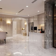 Thiết kế nội thất phong cách Tân Cổ Điển: Nội thất chất lượng - Cuộc sống đẳng cấp:  Nhà bếp by ICON INTERIOR