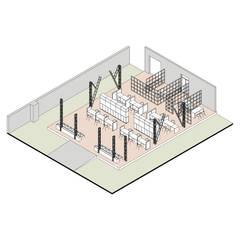 в современный. Автор – gOO Arquitectos, Модерн