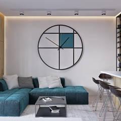 اتاق نشیمن by U-Style design studio