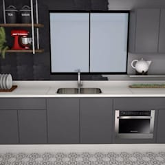 Kitchen units by EX ARQUITETURA E INTERIORES