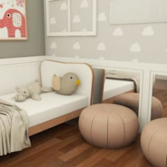 Girls Bedroom by EX ARQUITETURA E INTERIORES