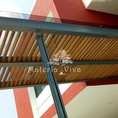 Front doors by Materia Viva S.A. de C.V., Modern