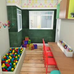 Nursery/kid's room by EX ARQUITETURA E INTERIORES,