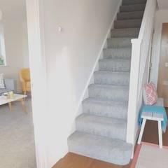 Scandi style House:  Corridor & hallway by THE FRESH INTERIOR COMPANY