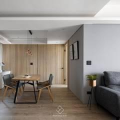 Dining room by 極簡室內設計 Simple Design Studio