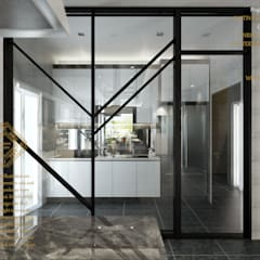Semi Detached House - Austin Residence Johor Bahru,Malaysia Modern style kitchen by Enrich Artlife & Interior Design Sdn Bhd Modern