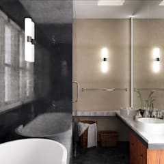 MASTER BATHROOM:  Bathroom by Enrich Artlife & Interior Design Sdn Bhd