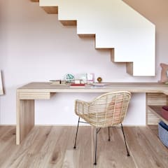 Nursery/kid's room by Bau-Fritz GmbH & Co. KG,
