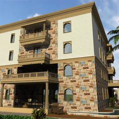 BUNGALOW WORK IN AHMEDABAD:  Villas by Monoceros Interarch Solutions