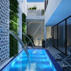 Bể bơi by Comelite Architecture, Structure and Interior Design