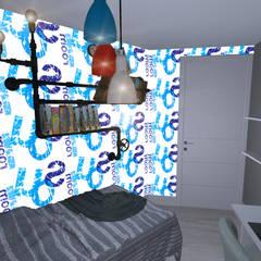 Dormitorios: Habitaciones de niños de estilo  de proyectoszeza