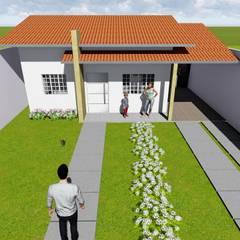Residencia Formosa: Casas familiares  por Maisy Melo Arquitetura e Urbanismo
