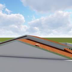 Maisy Melo Arquitetura e Urbanismo:  tarz Beşik çatı