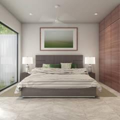 Habitación: Recámaras de estilo  por Taller Veinte