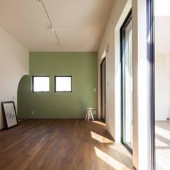 子供室|深沢の家: U建築設計室が手掛けた子供部屋です。