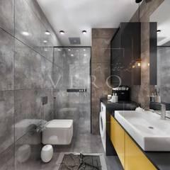 VERO CONCEPT MİMARLIK – Aydın Nazilli Konut:  tarz Banyo