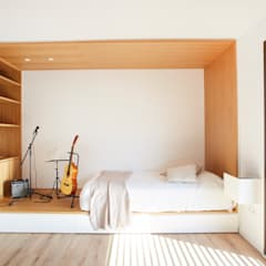 Dormitorio juvenil: Dormitorios infantiles de estilo  de Laia Ubia Studio