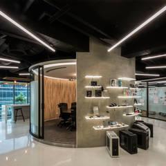 Office buildings by 亞卡默設計有限公司