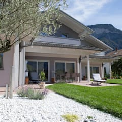 Casas prefabricadas de estilo  por Spazio Positivo