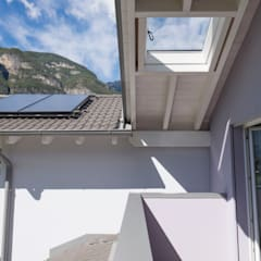 Gable roof by Spazio Positivo