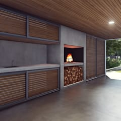 Carport by Estudio Tava