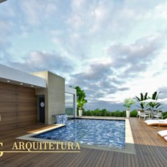Garden Pool by DRG ARQUITETURA