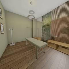 Salle de soins: Bureaux de style  par TOPOLOGY