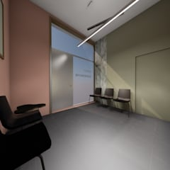 Salle d'attente: Bureaux de style  par TOPOLOGY