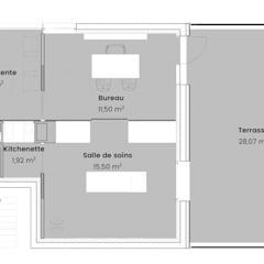 Plan : Bureaux de style  par TOPOLOGY