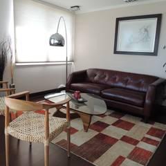 Asesoría de Interiorismos para Departamento en Reñaca, Viña del Mar por Kaa Interior: Livings de estilo  por Kaa Interior | Arquitectura de Interior | Santiago