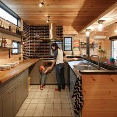 house-16: dwarfが手掛けたキッチンです。