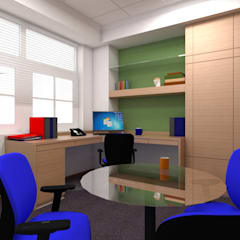 BLUEDART:  Study/office by smstudio