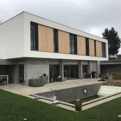 Villa avec piscine: Villa de style  par 3B Architecture
