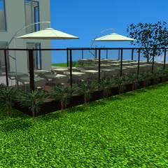Phòng học/Văn phòng theo Ellis Interior Design, Mộc mạc