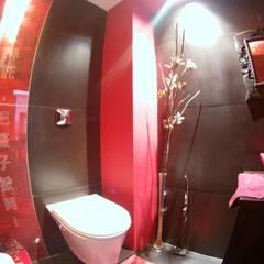 Baño Social DS: Baños de estilo  por Módulo 3 arquitectura