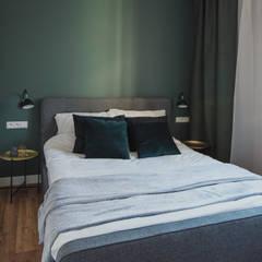 Apartament Garnizon II: styl , w kategorii Sypialnia zaprojektowany przez Niebanalne Wnętrza