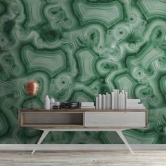 Negozi & Locali commerciali in stile  di House Frame Wallpaper & Fabrics