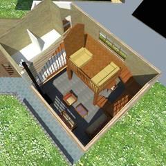 Estancias de estilo  por Constructora Rukalihuen