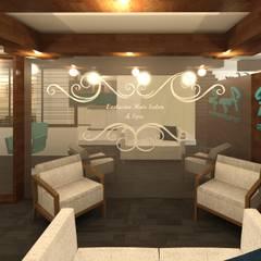 Sala de Espera: Spa de estilo  por Perfil Arquitectónico