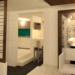 Área húmeda: Spa de estilo  por Perfil Arquitectónico