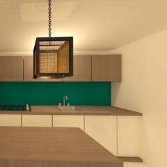 Cocina: Spa de estilo  por Perfil Arquitectónico