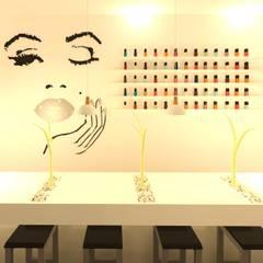 Nails bar: Spa de estilo  por Perfil Arquitectónico