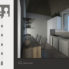 Villa Maria: Cucina in stile In stile Country di MGSO architetti