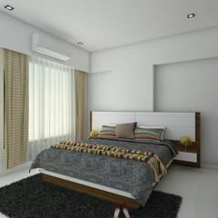 : minimalistic Bedroom by Interioarch Design Lab