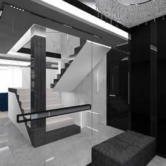 ACE IN THE HOLE | Wnętrza domu: styl , w kategorii Korytarz, przedpokój zaprojektowany przez ARTDESIGN architektura wnętrz