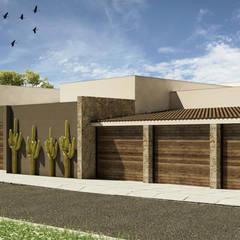 Maison individuelle de style  par Grupo PAAR Arquitectos