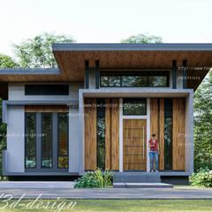 منزل عائلي صغير تنفيذ fewdavid3d-design, حداثي