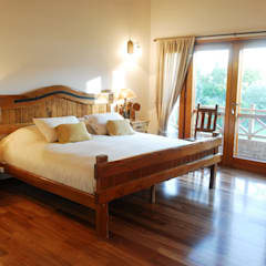 Country Normando: Dormitorios de estilo  por CIBA ARQUITECTURA